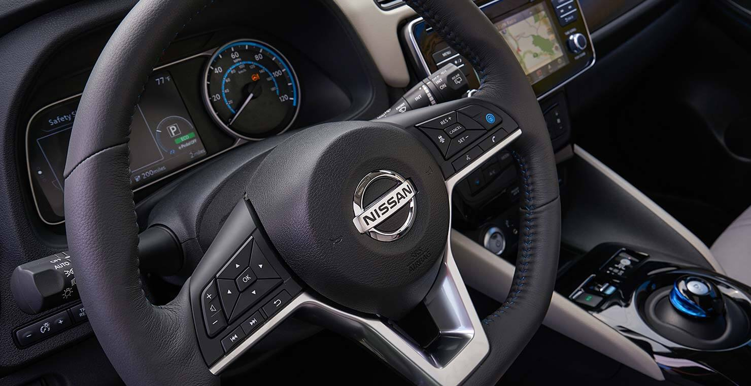 Nissan Leaf 2018 Interior