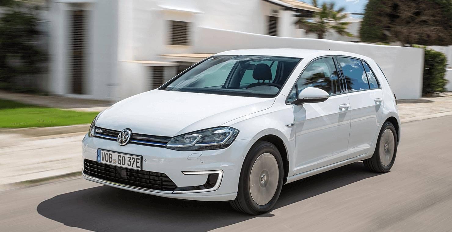 Volkswagen E-Golf Exterior