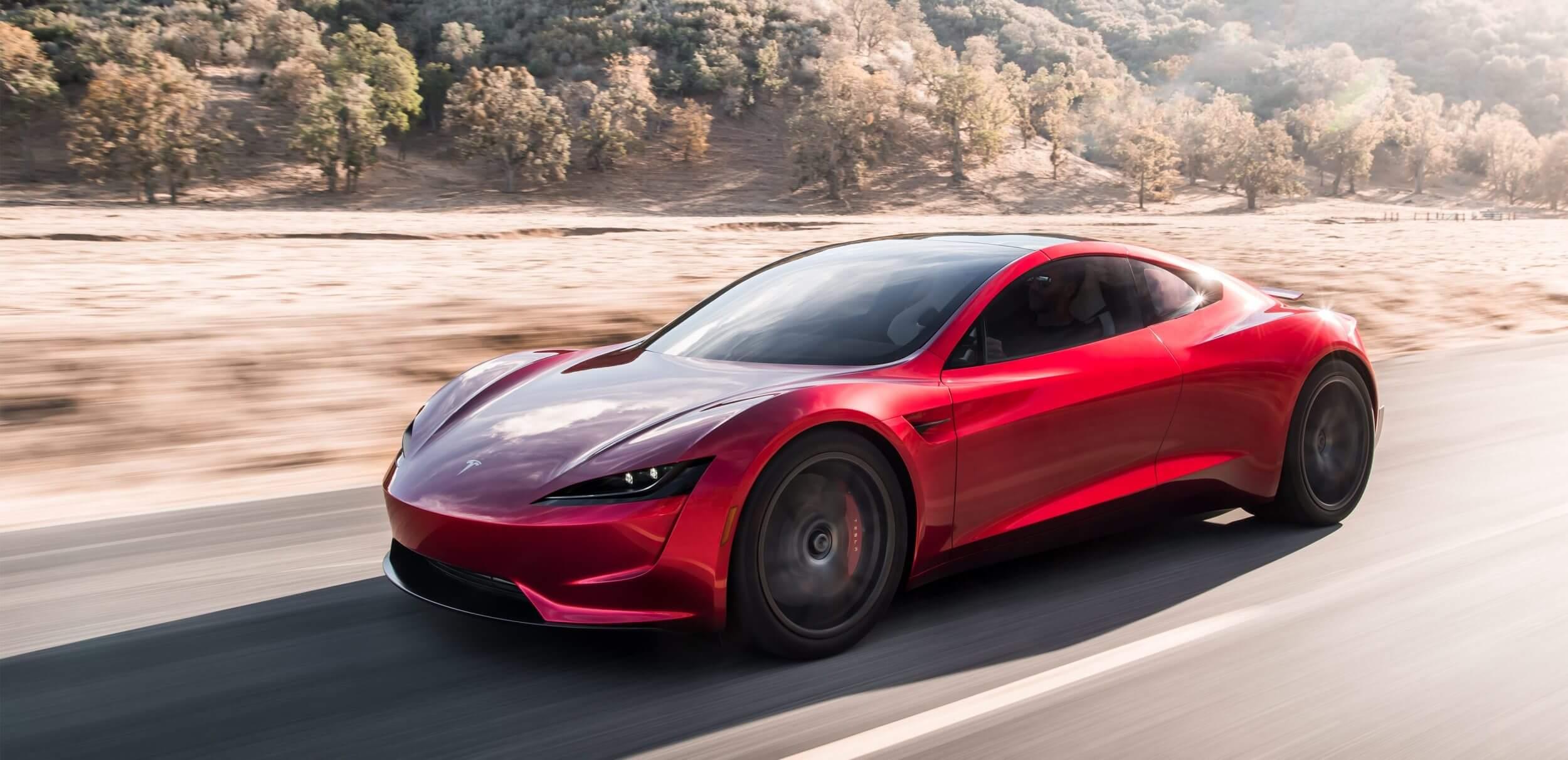 Tesla несподівано представила новий Roadster