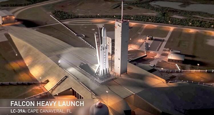 Ілон Маск пообіцяв запустити на Марс електромобіль Tesla