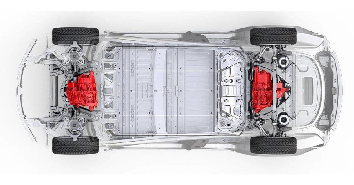 Tesla показала повний привід для Model 3