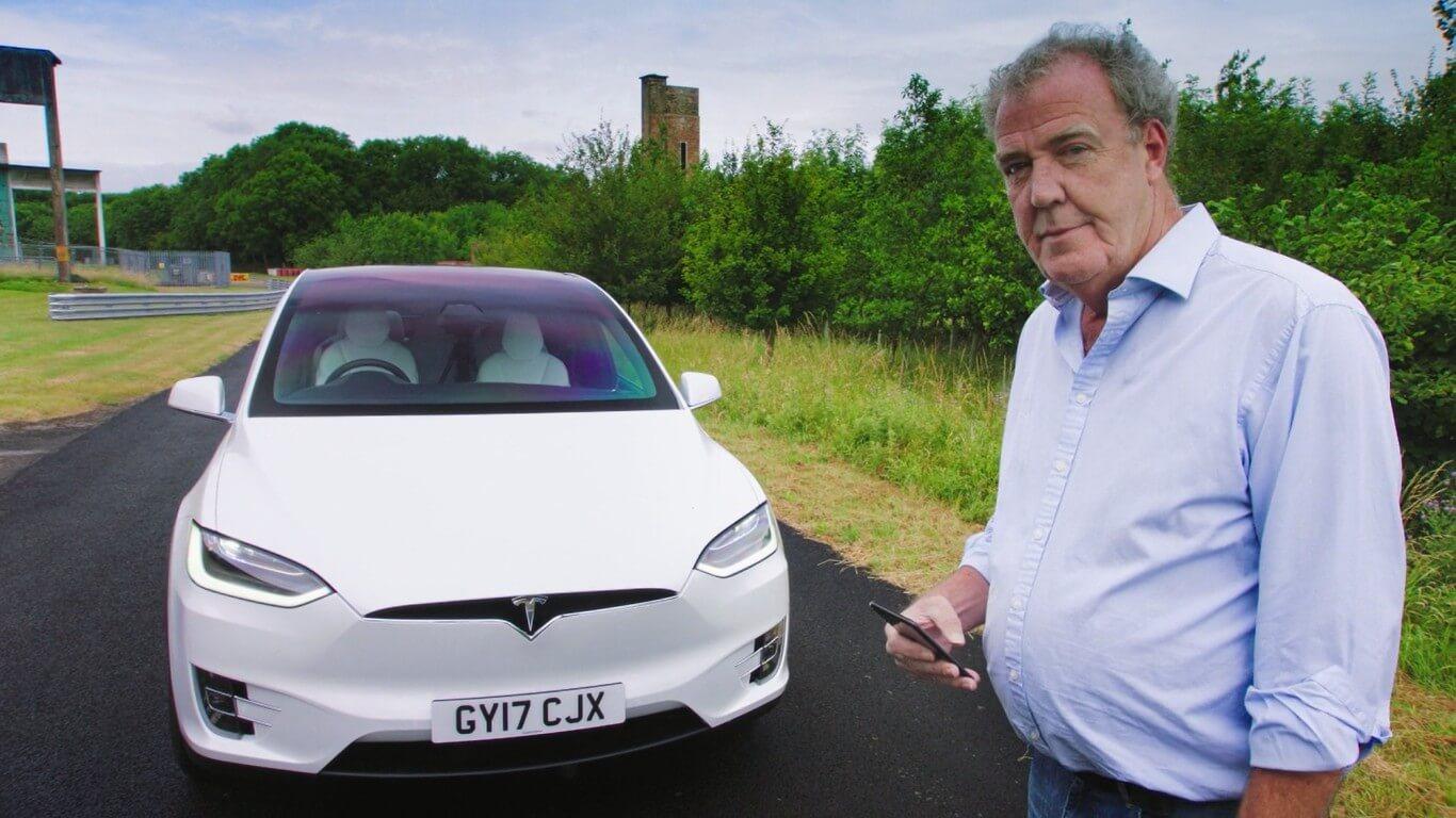 Джеремі Кларксон протестував Tesla Model X