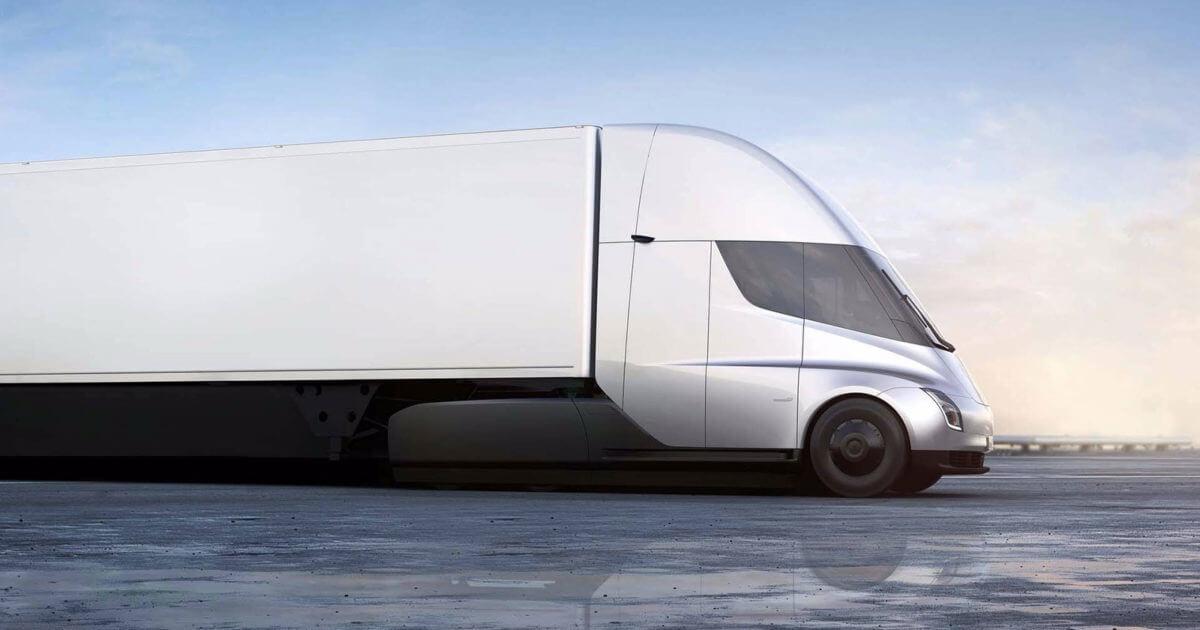 Відео: вантажівка Tesla Semi буксує на старті по сухому асфальту