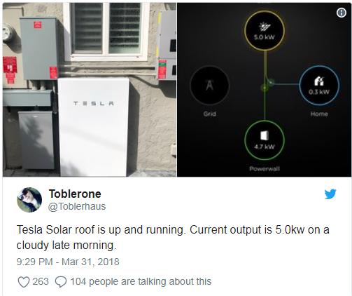 Як виглядають перші сонячні дахи від Tesla на справжніх будинках