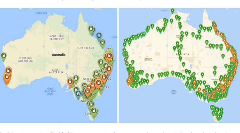 Власники Tesla в Австралії самі створили мережу зарядних станцій
