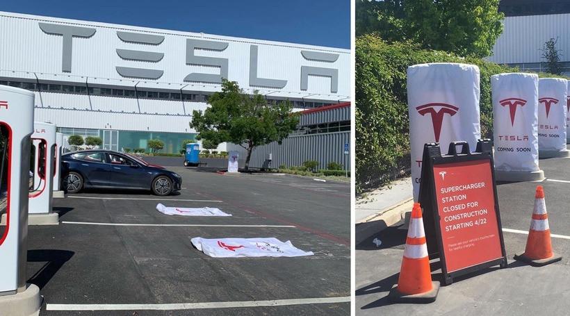 Відкрито перші зарядні станції Tesla Supercharger V3