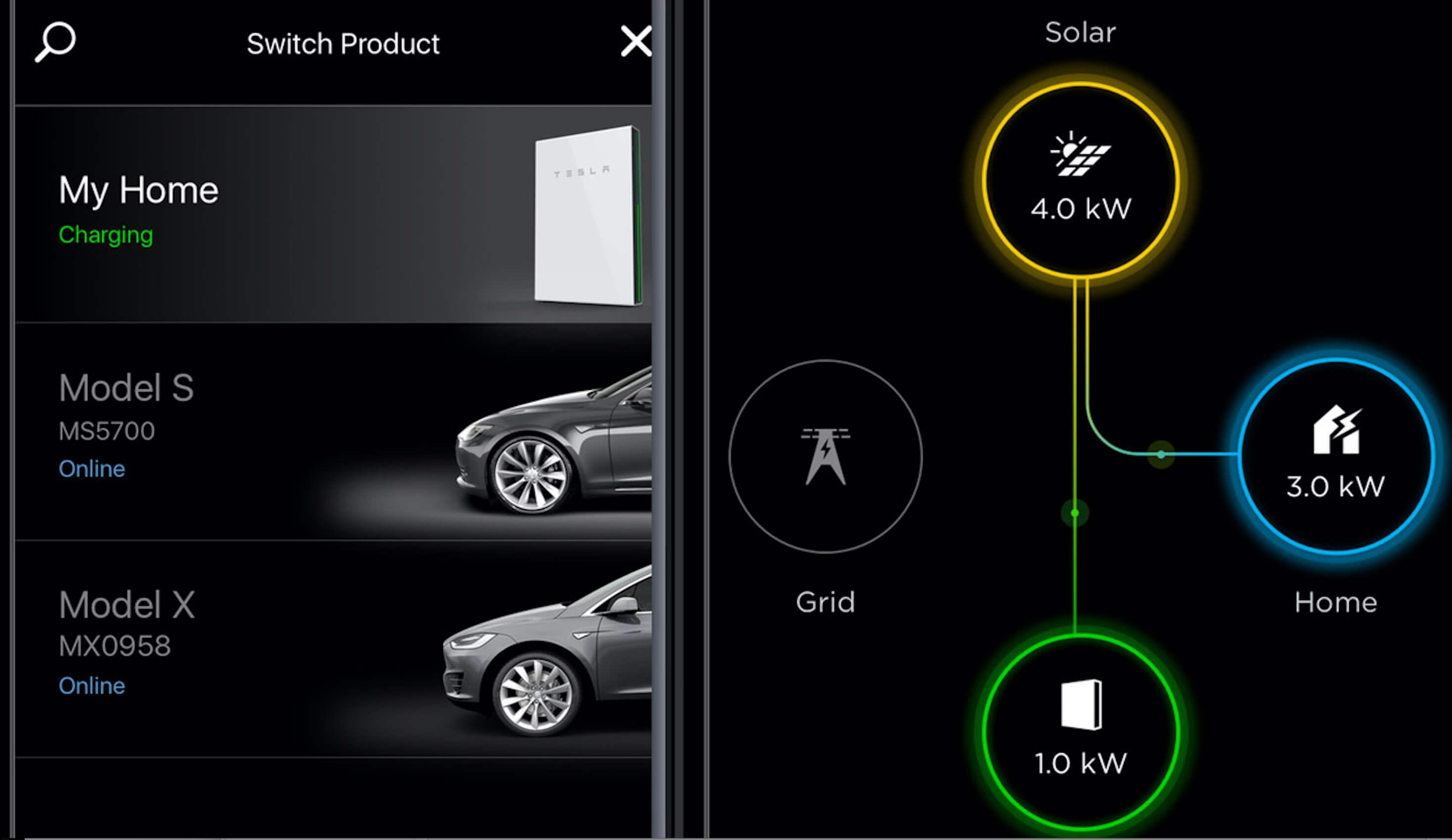 Tesla додала до своїх мобільних додатків контроль мережі Powerwall