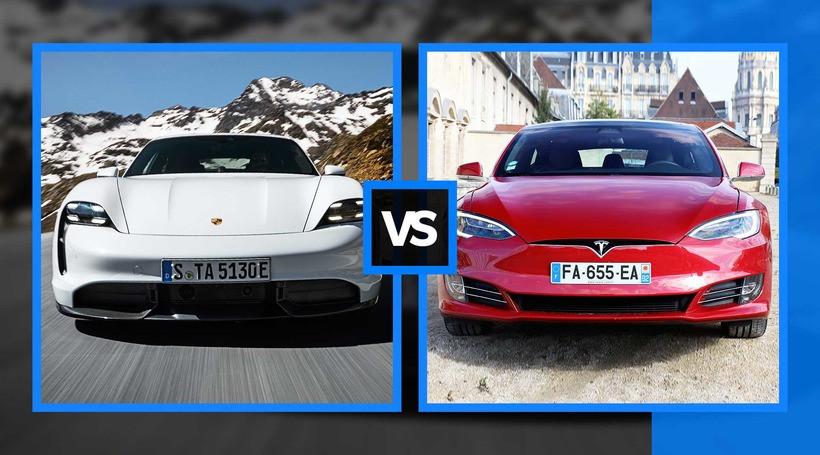 Porsche Taycan проти Tesla Model S: порівнюємо основні характеристики