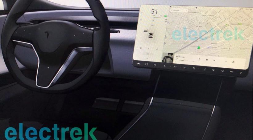 Електрокари Tesla отримають безрамний голографічний дисплей