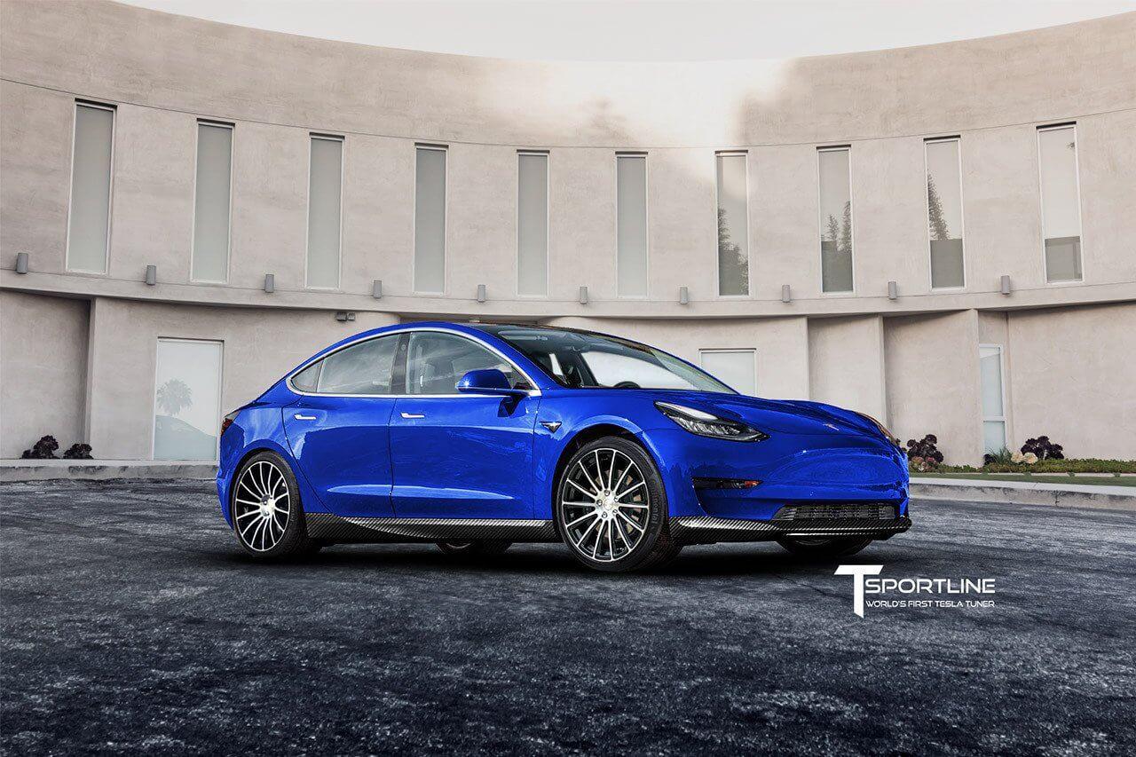 Tesla Model 3: перший тюнінг