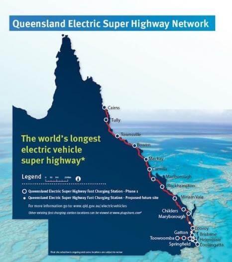 """В Австралії з`явиться """"електричний хайвей"""""""
