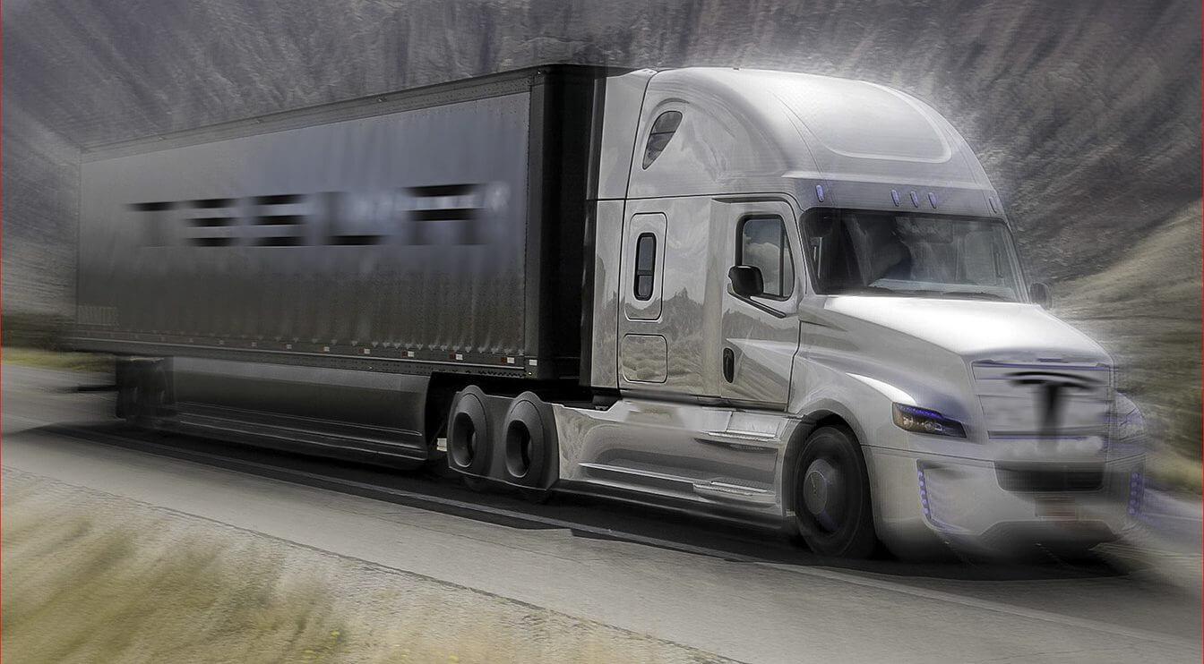 Названий запас ходу вантажівки Tesla