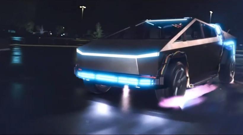 Tesla Cybertruck замінив DeLorean у фільмі «Назад у майбутнє»: відео