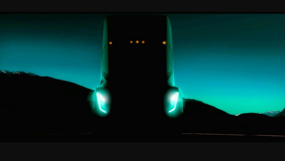 Можливо, перше живе фото вантажівки Tesla
