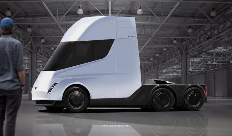 Детальний погляд: рендери електричної вантажівки Tesla